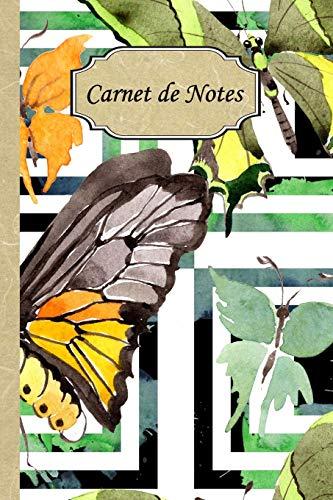 Carnet de Notes: Mon journal personnel de 121 pages lignées avec une couverture fantaisie