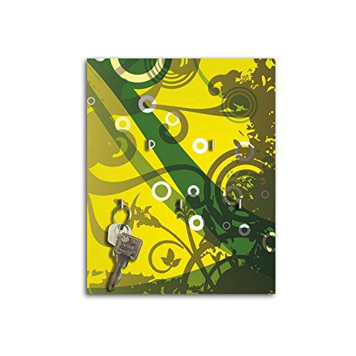 Plaque à clés avec crochets Design Juna Board Clé sb645