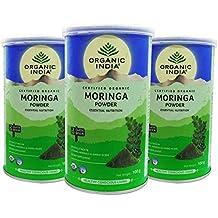 Organic India Moringa Leaf Powder 100 Gram ( Pack Of 3 )