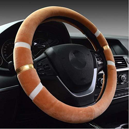 Coprivolante auto copricerchi invernali peluche capelli corti per Changan CS75 Yi in movimento Auchan A800 Ling Xuan CX70 Uno CHR sterzo dedicato38cm