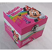 Minnie Mouse Jewellery Box with Mirror
