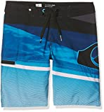 Quiksilver Jungen SLASHLOGOVYTH16 Slash Logo Vee 16 Zoll Boardshorts, Blue Miror, 26/12