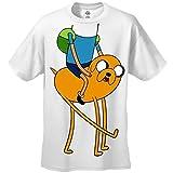 Adventure Time Herren Freunde Kostüm T-Shirt #22 (Klein)
