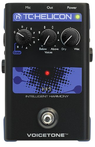 TC HELICON VOICETONE H1 PROCESSORE DI ARMONIE VOCALI