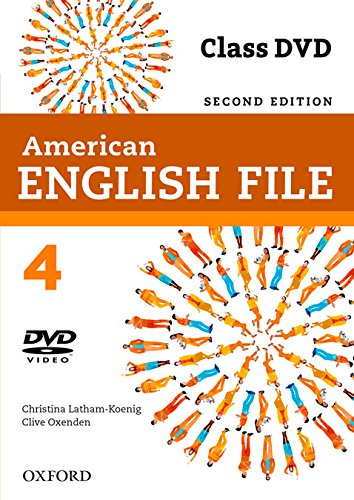 American English File 2nd Edition 4. DVD (American English File Second Edition)