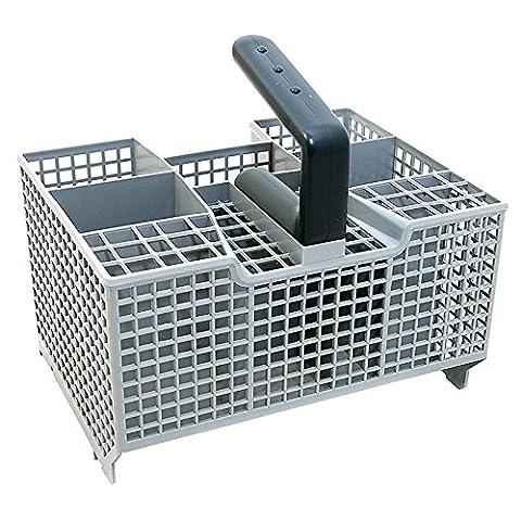 spares2go Besteck Korb mit abnehmbarem Griff für IKEA Geschirrspüler