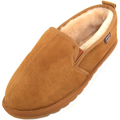 Sliugs Sheepskin - Hard Slippers Slippers Uomo Marrone (castagna)