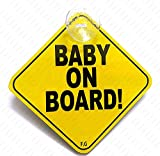 #3: BABY ON BOARD YELLOW 006