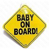 Fusion Baby on Board (Yellow, BOB 006)