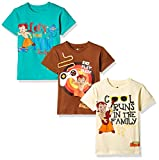 #7: Chhota Bheem Boys' T-Shirt (Pack of 3)