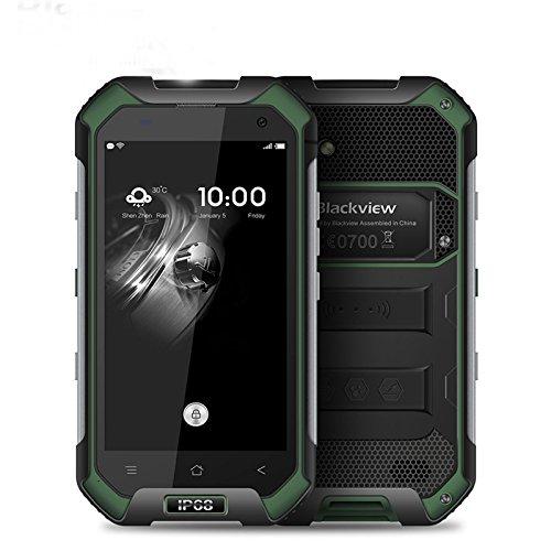Telefon Eu, Blackview P10000 Pro entsperrte Smartphone 5.99 '' Outdoor Sport/Portable Spezielle Industrielle FHD + 2160 x 1080 Pixel, MT6763 maximale Batterie, 11000mAh 5V/5A 4GB RAM 64GB ROM