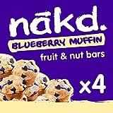 Nakd Blueberry Muffin, 4x35g MPK