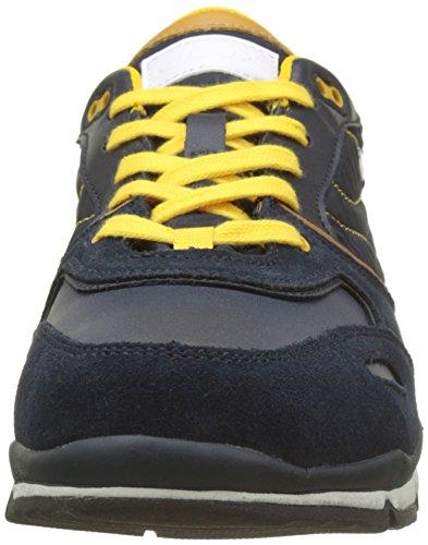 Geox Herrenschuhe - Sneakers - Halbschuhe Sandford ABX - Amphibiox = Wasserdicht Blau (Dk Blue)