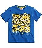 Minions T-Shirt - blau - 152