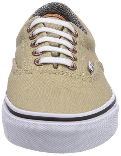 Vans Era, Chaussons Sneaker Adulte Mixte Beige (C L)