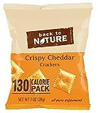 Back To Nature - Lo spuntino del cracker imballa il formaggio cheddar croccante - 8 Sacchetti
