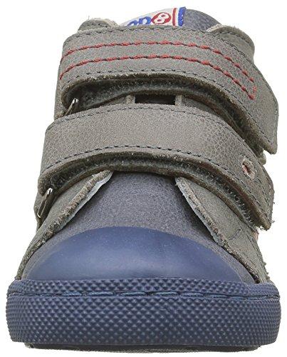 Mod8 Kinzo, Chaussures Premiers Pas Bébé Garçon Bleu (Marine Gris)