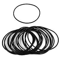 10 Stk 62mm Innendurchmesser 1.5mm Dicke Gummi O Ring /Öl Dichtung Dichtungsring DE de