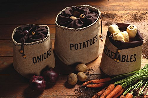 prezzo Kitchen Craft Natural Elements Hessian – Sacco per conservare le patate con fodera oscurante