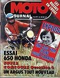 MOTO JOURNAL [No 397] du 01/02/1979 - EXPLOSIF : UNE 500 YAM. UNSINE POUR SARRON. LES RUSSES EN CROSS. ESSAI 650 HONDA. UN ARGUS TOUT NOUVEAU....