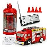 RC Feuerwehrfahrzeug, Vicoki Ferngesteuert Mini Ferngesteuertes Fahrzeug Feuerwehr Auto Spielzeug