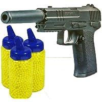 Nick and Ben M-GOR Softair Pistole + 1000 Kugeln + Schalldämpfer