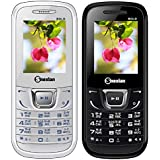 Snexian BOLD 1282 Feature Mobile Phone Combo Of Two Mobiles(White +Black) With 1.8 Inch, Dual Sim, Open FM, 1000 Mah Battery, BLUETOOTH, CAMERA, Upto 16 GB Expandable Memory, BIS CERTIFIED & 1 YEAR WARRANTY
