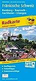 Fränkische Schweiz, Bamberg - Bayreuth, Forchheim - Erlangen: Radkarte mit Ausflugszielen, Einkehr- & Freizeittipps sowie Mountainbike- und ... GPS-genau. 1:100000 (Radkarte / RK)
