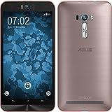 PhoneNatic Case für ASUS Zenfone Selfie Hülle Silikon rosa, 360° Fullbody Cover