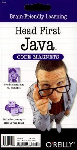 Head First Java Code Magnets (2008-09-01) -