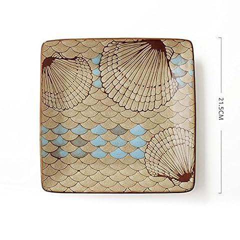 Creative ceramic plate/[hotels],household use,dish dish/[side dish]/ disc-F