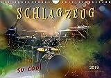 Schlagzeug - so cool (Wandkalender 2019 DIN A4 quer): Schlagzeug, das Instrument, dass nicht nur den Musiker, sondern während eines Konzertes auch den ... (Monatskalender, 14 Seiten ) (CALVENDO Kunst)