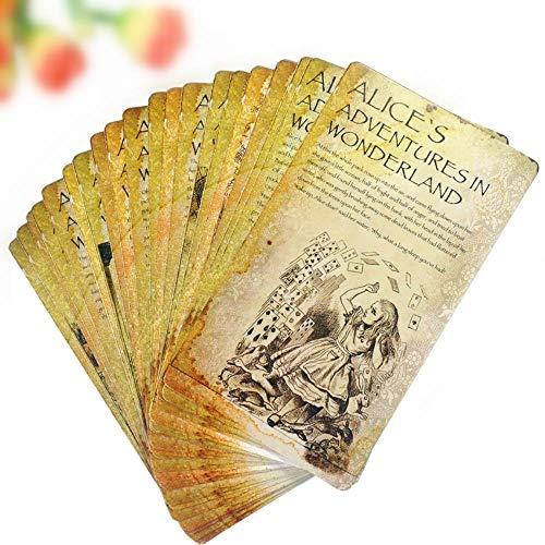 Yoin 20pcs / SetCartoline da Cartolina nel Paese delle Meraviglie di Alice Cartoline Kawaii per Gli Studenti Segnalibro Fai-da-Te Carte Storia per Bambini