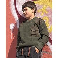 Com.Pullover Kids Pan oliv