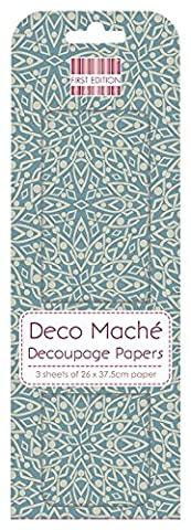 First Edition Deco Mache Papier FSC – Diamant Liens, papier, Multi Couleur