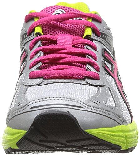 Asics Patriot 7, Chaussures de trail femme Argenté (9319-Silver/Pink/Lime)