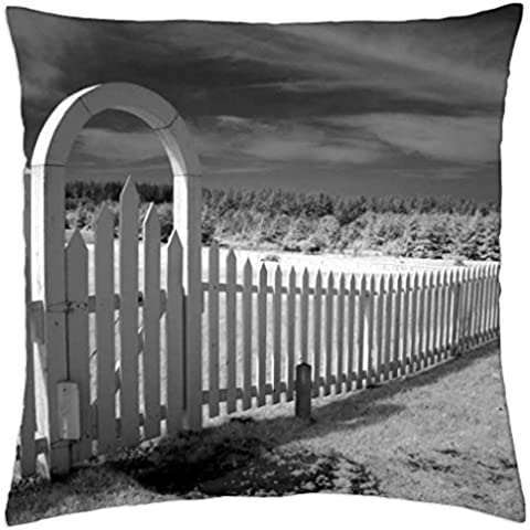 The Gateway Entrance - Throw Pillow Cover Case (18