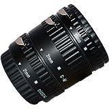 Set de bagues allonges automatiques professionnelles pour Canon EOS EF/AF - *3 pièces : 13 mm, 21 mm, 31 mm* Baïonnette - pour Canon EOS 100D 1000D 1100D 700D 650D 600D 550D 500D 450D 400D 350D 300D 70D 60D 50D 40D 30D 20D 10D 7D 6D 5D 5D Mk II 1D 1Ds 1D Mk II 1Ds 1D C Mk II 1D Mk II N 1D Mk III 1Ds Mk III etc.