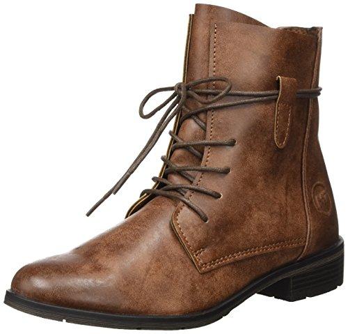 Marco Tozzi Damen 25110 Chukka Boots, Braun (Cognac Antic), 38 EU (Damen Sportliche Chukka)
