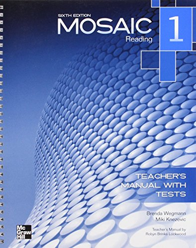 Mosaic 1 Reading Teachers Manual