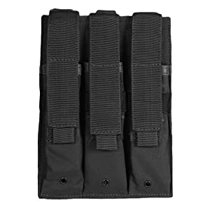 Fox Outdoor Products Triple MP 5 Mag Pouch