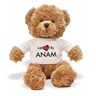 AdoptedBy TB1ANAM Teddy Bär Tragen Einen Wunschnamen T-Shirt