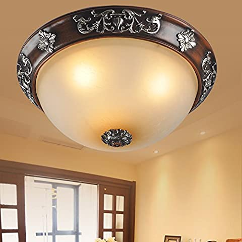 Zqww Ceiling lamp Antiquariato cinese passerelle camera da letto studio