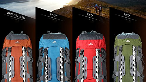 ALUK-Outdoor-Zelt Camping Wandern Rucksack den professionellen Berg Taschen Blau