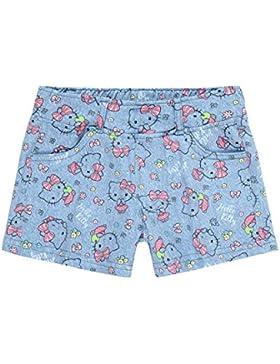 Hello Kitty Shorts, kurze Hose, blau, Gr. 98-128