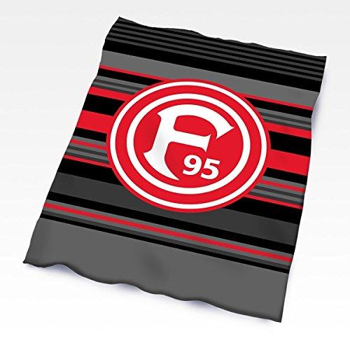 F95/Fortuna Düsseldorf Plaid rayures noir