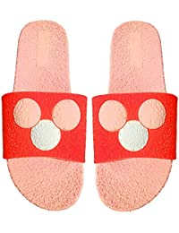 d50c2dfb798 PARIE Extra Soft Rubber Flip Flop House Slippers for Women and Girls Pink