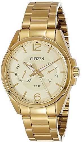 51V LYUXA4L - Citizen AG8322 50P Gold Mens watch