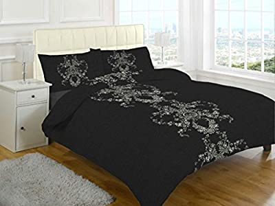 Duvet cover sets printed new polycotton bedding produced by La Ritzy - quick delivery from UK.