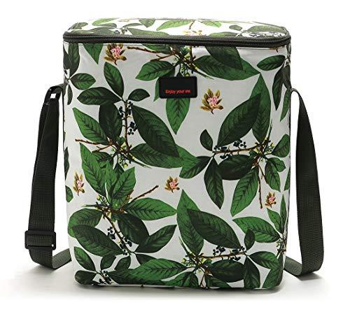 Yvonnelee Kühltasche Picknicktasche Thermotasche Lunch Tasche isolierte Kühlbox Lebensmitteltransport für Büro Arbeit Outdoor Camping Reisen